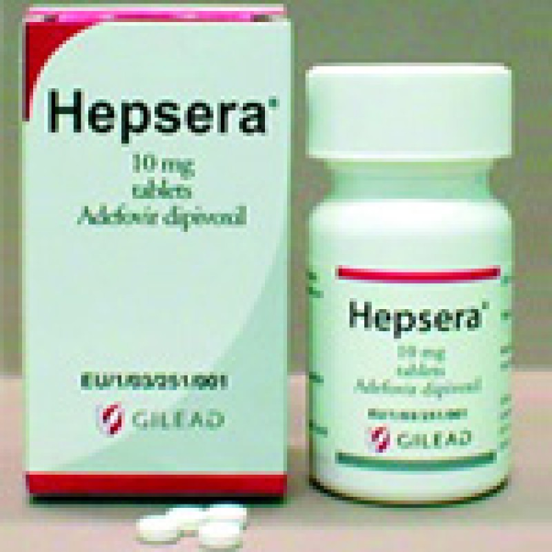 Гепсера Hepsera (Адефовир) 10 мг/30 таблеток