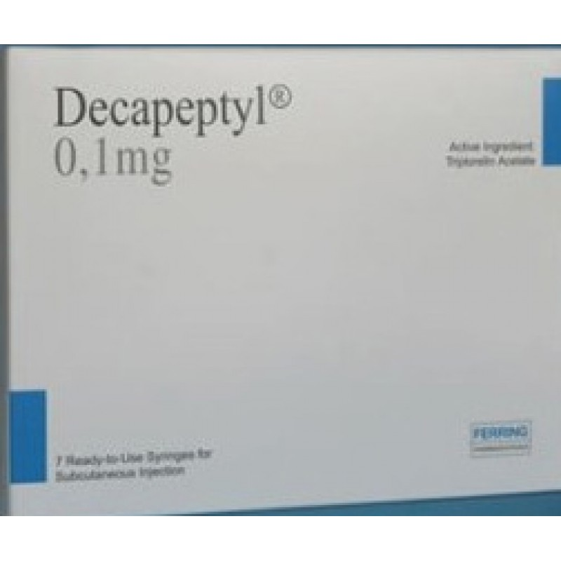 Декапептил Decapeptyl IVF 0.1mg/1ml 7шт.