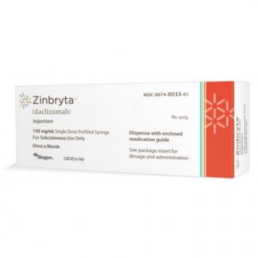 Купить Зинбрита Zinbryta (Даклизумаб) 150 мг/1 шт в Москве