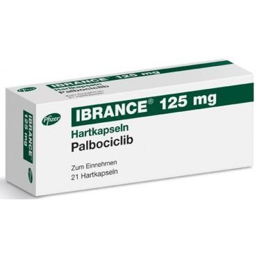 Купить Ибранс Ibrance (Палбоциклиб) 125 мг/21 капсул в Москве