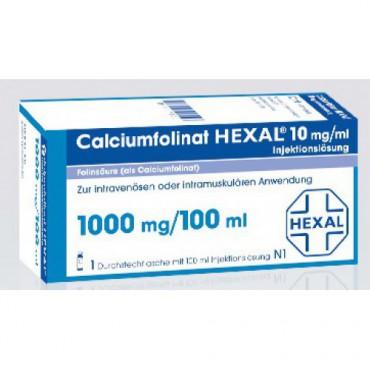 Купить Кальциумфолинат Calciumfolinat 1000mg/100ml 1 флакон в Москве