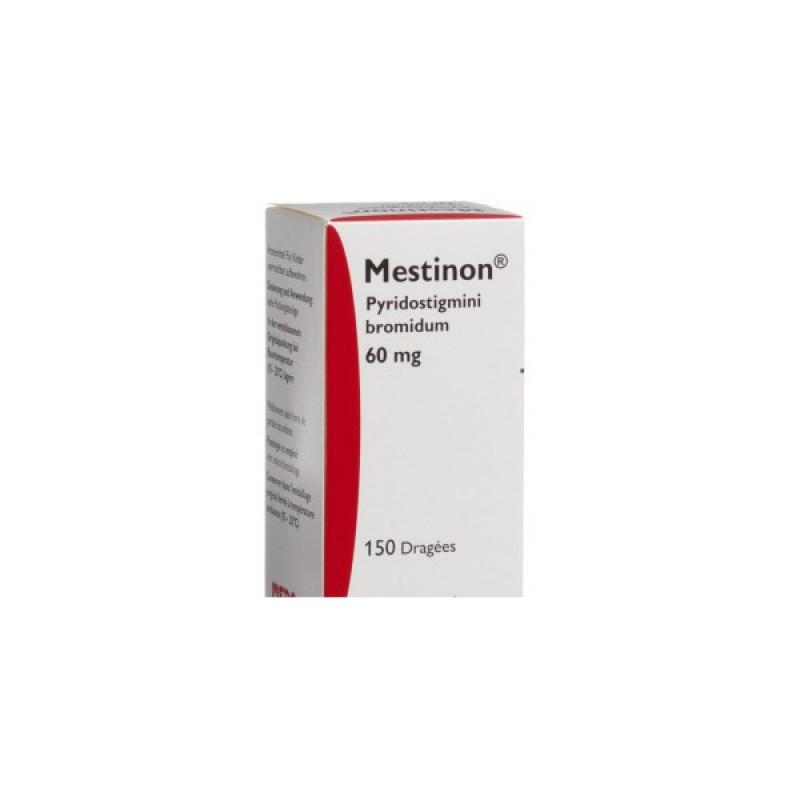 Местинон Mestinon 60 мг /100 таблеток