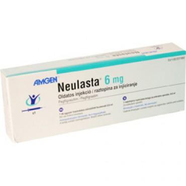 Купить Неуласта Neulasta 6 мг/1 шприц в Москве