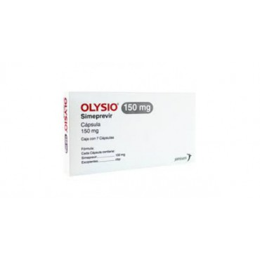 Купить Олисио Olysio (Симепревир) 150 мг/28 капсул в Москве
