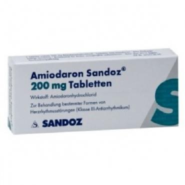 Купить Амиодарон AMIODARONE 200 Мг - 100 Таблеток в Москве