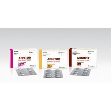 Купить Афинитор Afinitor 2.5 мг/30 таблеток в Москве