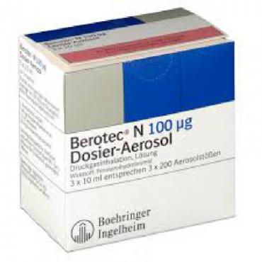 Купить Беротек  BEROTEC N 100UG - 3x10Ml в Москве