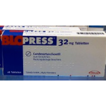 Купить Блопресс (Кандезартанcилексетил) Blopress (Candesartancilexetil) 32 мг/28 таблеток в Москве