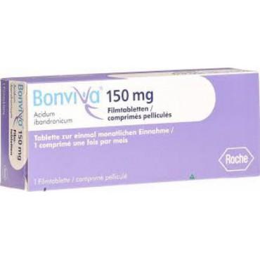Купить Бонвива Bonviva  150 мг/3 таблетки в Москве