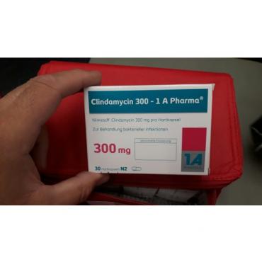 Купить Клиндамицин CLINDAMYCIN 300 - 30 Шт в Москве
