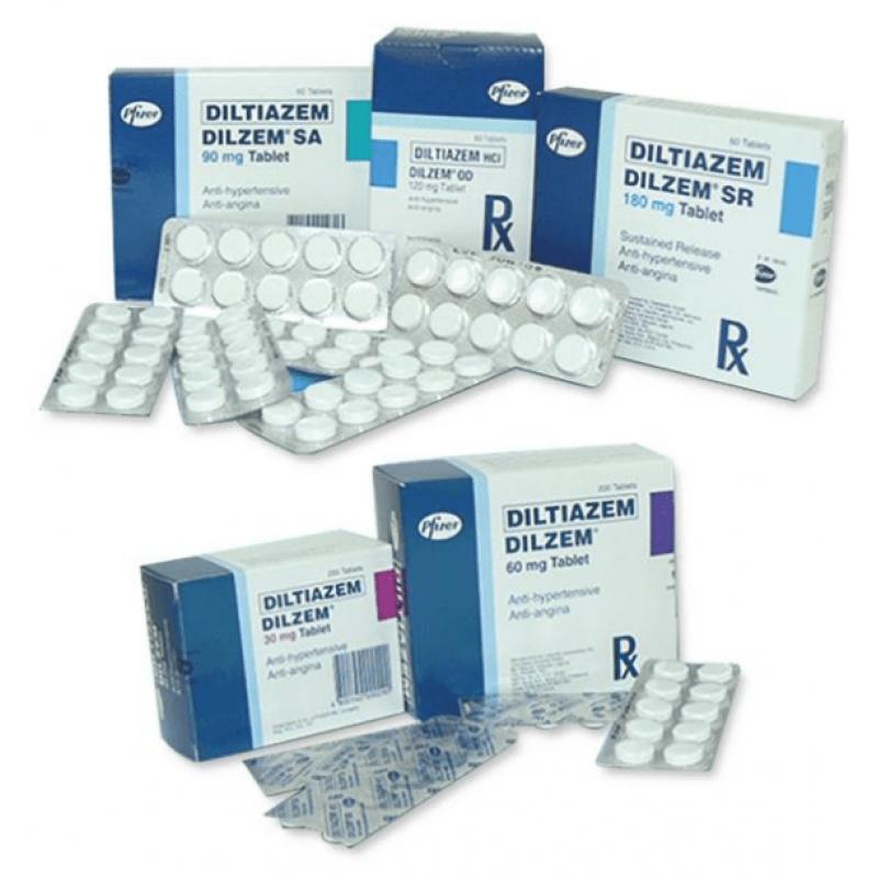 Дилтиазем DILTIAZEM ETHYPHARM 120MG - 100 Шт