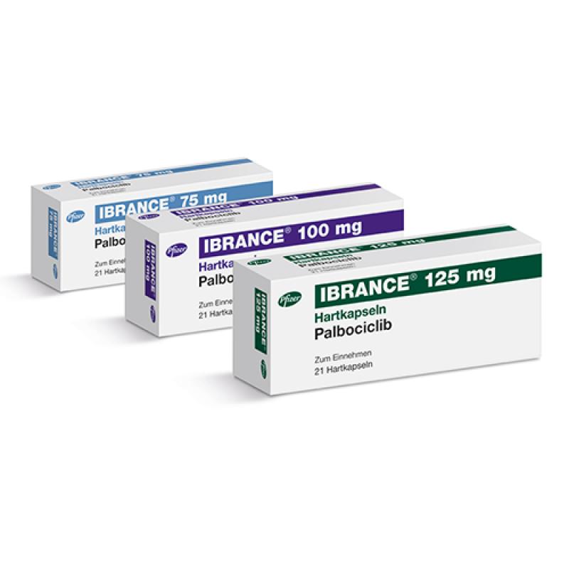 Ибранс Ibrance (Палбоциклиб) 100 мг/21 капсул