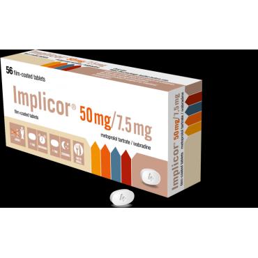 Купить Импликор IMPLICOR 50MG/7.5MG - 56 Шт в Москве