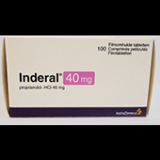 Индерал INDERAL 40MG - 100 Шт