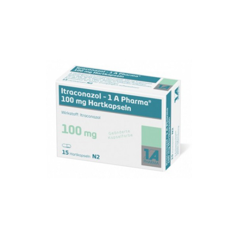 Итраконазол ITRACONAZOL  100 мг/15 капсул