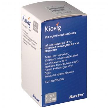 Купить Киовиг KIOVIG 100MG/ML - 25 Мл в Москве