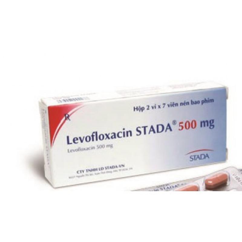 Левофлоксацин LEVOFLOXACIN 500MG - 10 ШТ