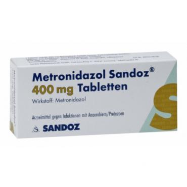 Купить Метронидазол METRONIDAZOL 400 - 20Шт в Москве