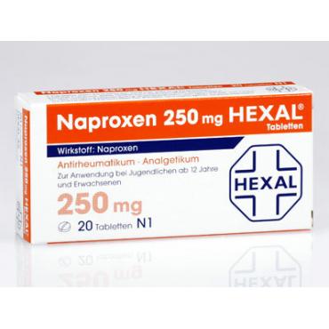 Купить Напроксен NAPROXEN 250 - 50 Шт в Москве