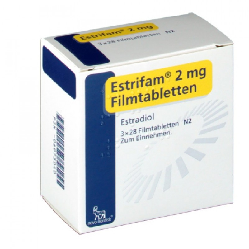 Эстрифам ESTRIFAM 2MG 3X28 Шт