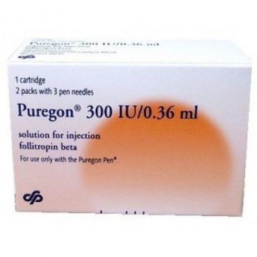 Купить Пурегон Puregon 300 I.E 1 Шт в Москве