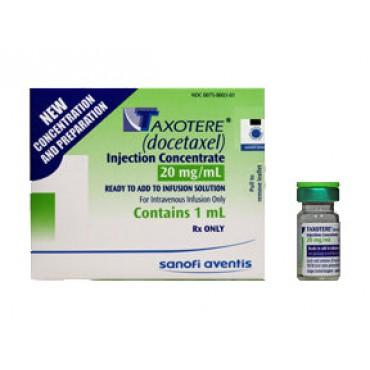Купить Таксотер Taxotere 20 мг/1 флакон в Москве