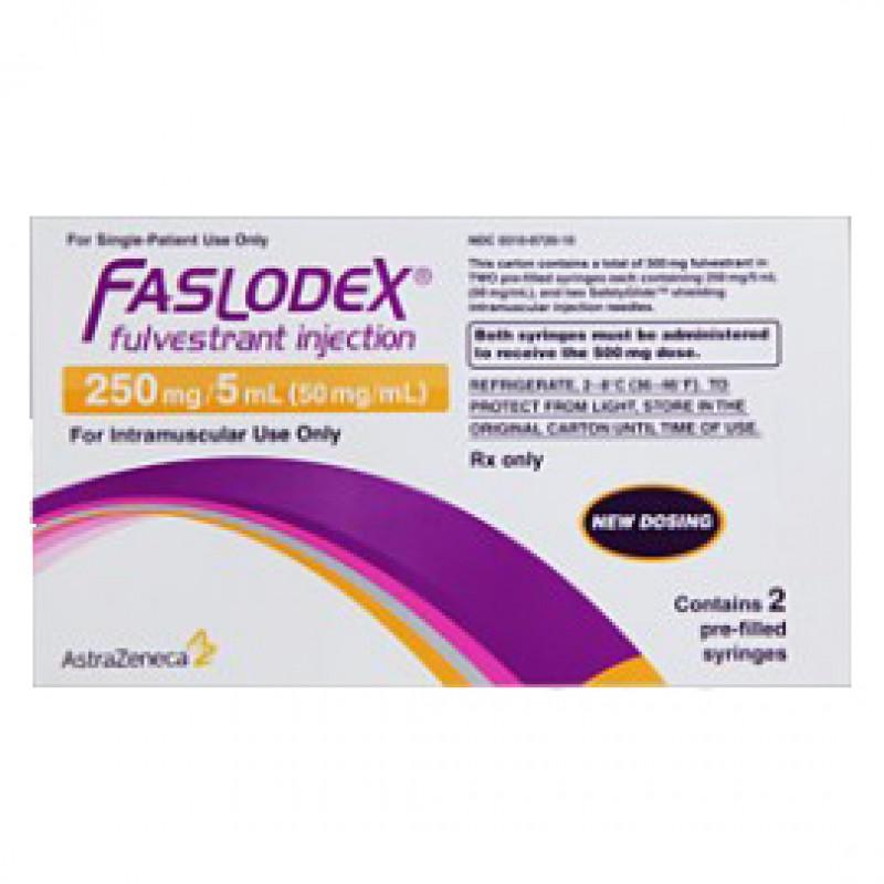 Фазлодекс Faslodex 250 мг/2 готовых шприца