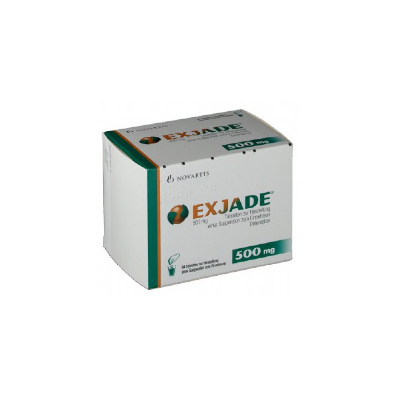 Эксиджад Exjade 500 мг/84 таблеток