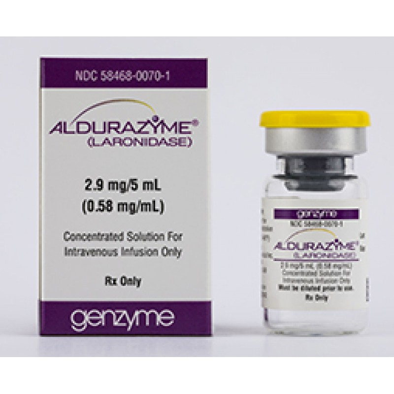Алдуразим Aldurazyme 100 U/ML 25 X5ML