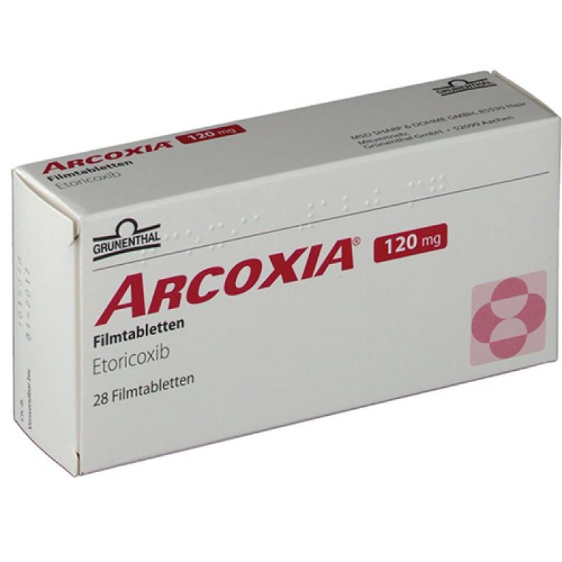 Аркоксиа Arcoxia 120 mg/28Шт