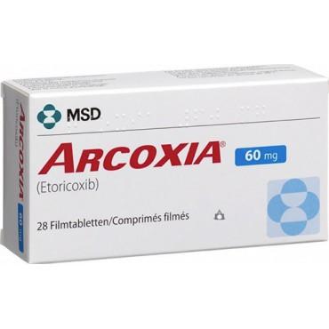 Купить Аркоксиа Arcoxia 60 mg/100Шт в Москве