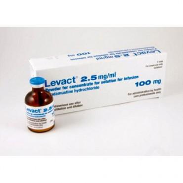 Купить Бендамустин Levact 100 мг/5 флаконов в Москве