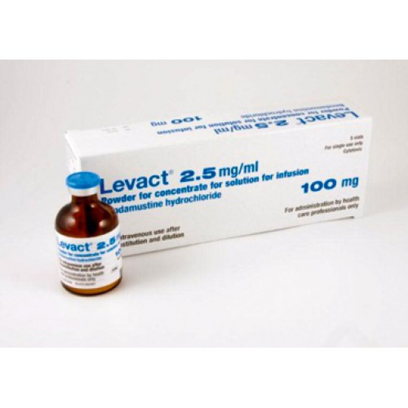 Бендамустин Levact 100 мг/5 флаконов