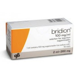 Купить Брайдион Bridion 100MG/ML 10X2 ml в Москве