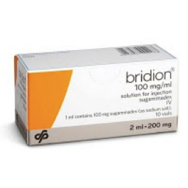 Брайдион Bridion 100MG/ML 10X2 ml
