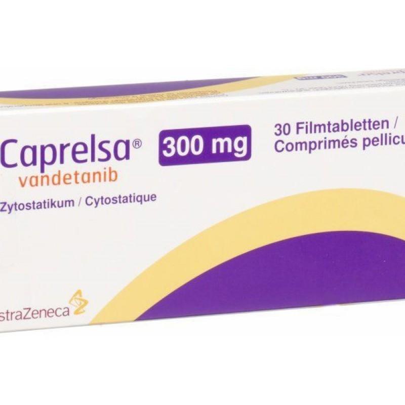 Капрелса Caprelsa (Вандетаниб) 300 мг/30 таблеток