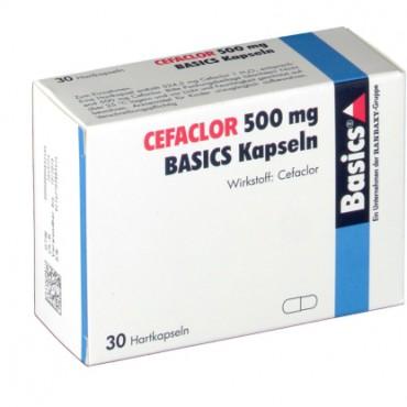Купить Цефаклор Cefaclor 500MG Basics KAPS/10 Шт в Москве