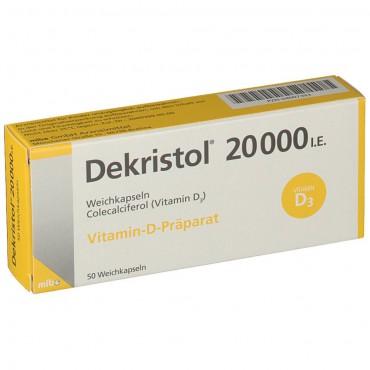 Купить Декристол Dekristol 20000 I.E./50 шт в Москве
