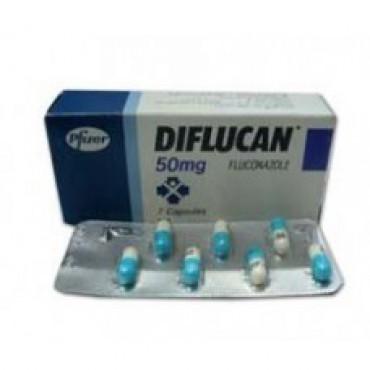 Купить Дифлюкан Diflucan 50 мг/28 капсул в Москве