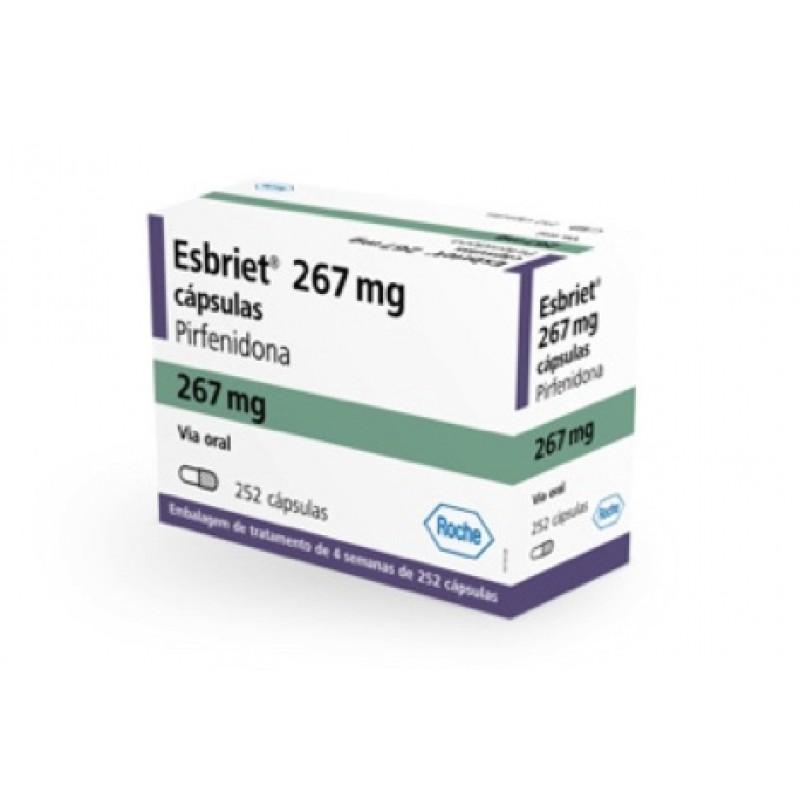 Эсбриет Esbriet 267MG /252 шт