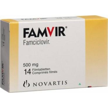 Купить Фамвир Famvir 500MG/21 Шт в Москве
