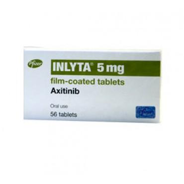 Купить Инлита Inlyta 5 мг/56 таблеток в Москве