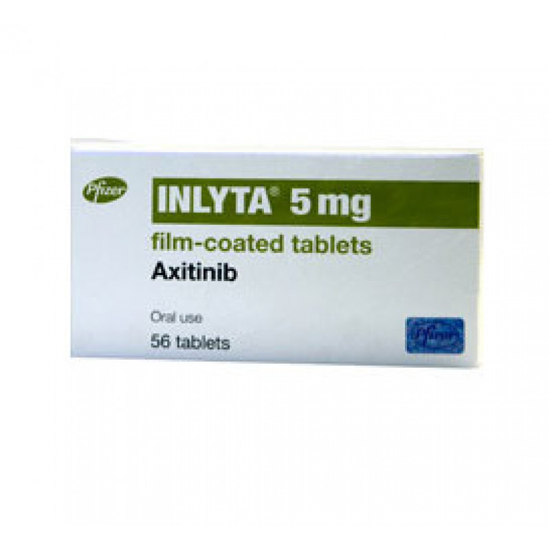 Инлита Inlyta 5 мг/56 таблеток