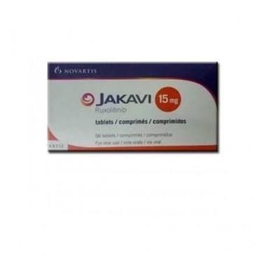 Купить Джакави Jakavi (Руксолитиниб Ruxolitinib) 15 мг/56 таблеток в Москве