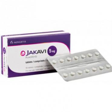 Купить Джакави Jakavi (Руксолитиниб Ruxolitinib) 5 мг/56 таблеток в Москве