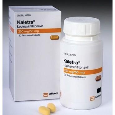 Купить Калетра Kaletra 200 mg/50 Mg/ 120 Шт в Москве
