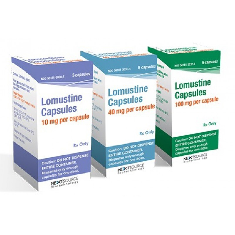 Ломустин Lomustine (Cecenu) 20 капсул