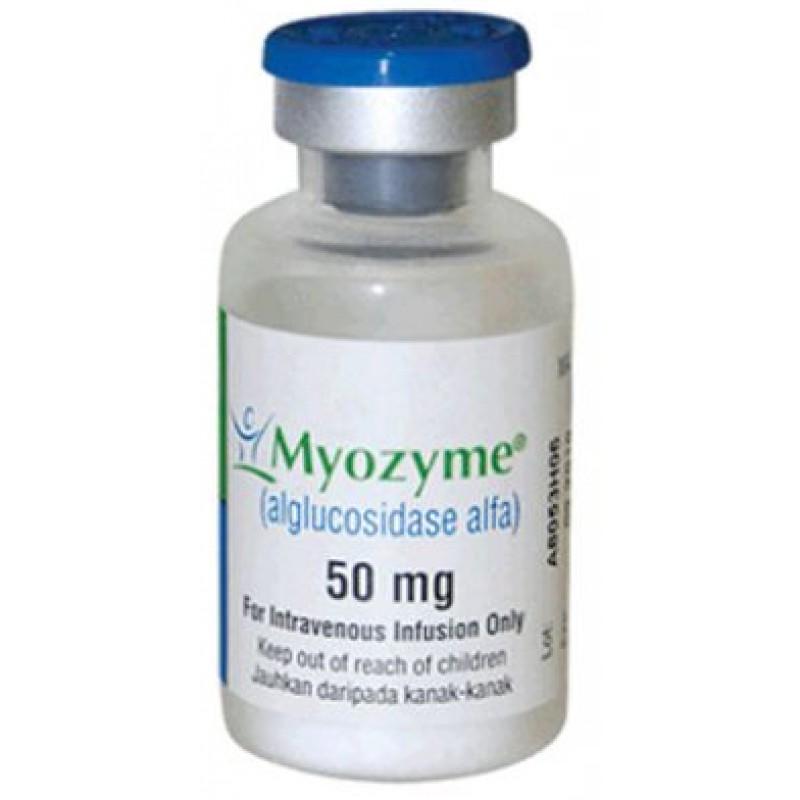 Майозайм Myozyme 10 флаконов