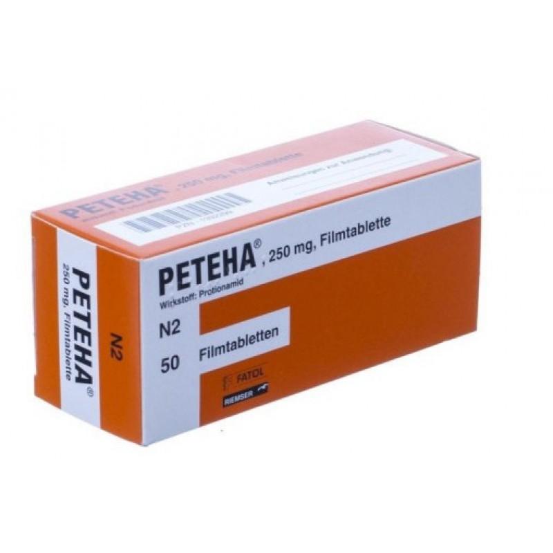 Петеха Peteha 250 mg/100 шт