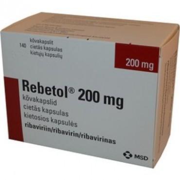 Купить Ребетол Rebetol 200MG/168 Шт в Москве